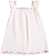 Roxy Embroidered Cotton Dress, Toddler & Little Girls (2T-6X)