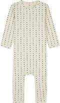 TINY COTTONS Alphabet soup stretch-cotton sleepsuit newborn-18 months