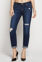 BCBGeneration Destructed Slim Boyfriend Jean