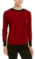 Joan Vass Silk & Cashmere-blend Sweater.