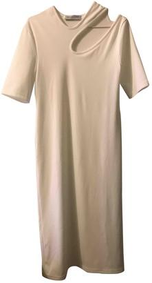 CHRISTOPHER ESBER White Polyester Dresses