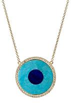 Jennifer Meyer Women's Evil Eye Pendant Necklace