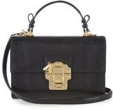 Dolce & Gabbana Lucia lizard-effect leather cross-body bag