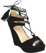 Wild Diva Women's DW6168-SR Platform Wedge Sandal