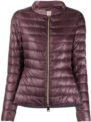 Herno Peplum Detail Down Jacket