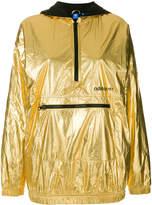 adidas metallic pullover jacket