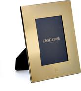 Roberto Cavalli Monogram Gold Plate Picture Frame - 5x7
