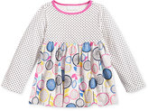 First Impressions Long-Sleeve Dots & Flowers Tunic, Baby Girls (0-24 months), Only at Macy's