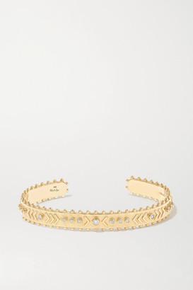 Marlo Laz Arrow Rawa 14-karat Gold Diamond Cuff - one size