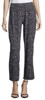 Vince Camuto Speckle Flared Ankle-Length Pants