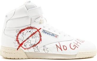 Reebok Ex-O-Fit Clean Hi Bait x Ghostbusters x Stranger Things sneakers