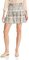 Ella Moss Women's Catalina Print Flared Skirt