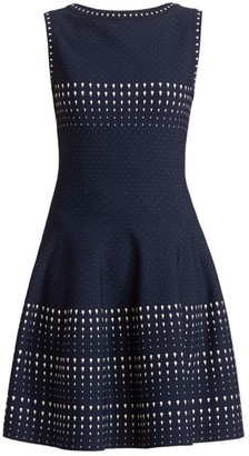 Alaia Sleeveless Fit-&-Flare Dress