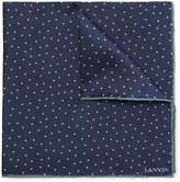 Lanvin - Polka-dot Silk Pocket Square