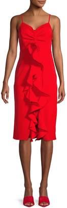 Endless Rose Ruffled Knee-Length Dress