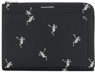 Alexander McQueen Dancing Skeleton document holder
