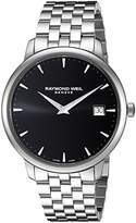 Raymond Weil 'Toccata' Swiss Quartz Stainless Steel Casual Watch, Color:Silver-Toned (Model: 5588-ST-20001)