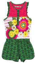 Desigual Girl's Baiji Floral Overalls,3 Years (Manufacturer Size:)