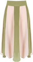 Adriana Degreas silk Gotas skirt