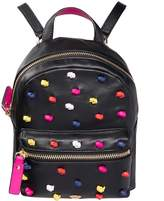 Juicy Couture Knotted Mini Leather Backpack