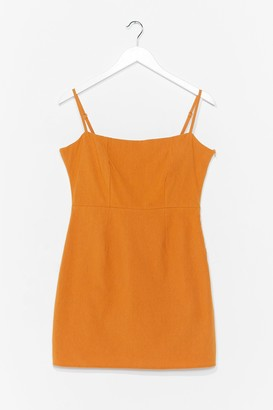 Nasty Gal Womens One Mini Babe Square Neck Dress - Black - 6