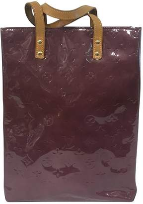 Louis Vuitton Vintage Purple Patent leather Handbag