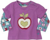 Hatley 2 In 1 Tee (Baby) - Orchard Apples-6-12 Months
