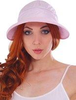 Simplicity Women's UPF 50+ UV Sun Protective Convertible Beach Hat Visor