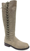 Bamboo Taupe Corset Pilot Riding Boot