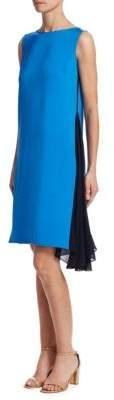 Akris Silk Crepe Shift Dress