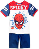 Nannette 2-Pc. Spider-Man Graphic-Print T-Shirt & Shorts Set, Little Boys (4-7)