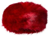 Bandit's Girl Red Faux Fur Hat