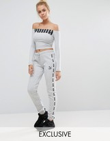 Puma Exclusive To ASOS Taped Sweat Pants