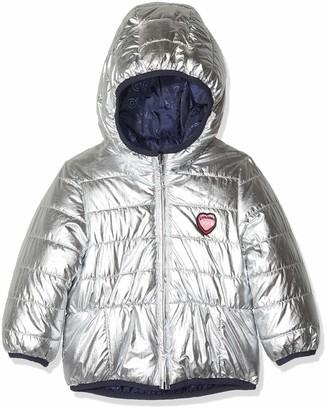 IKKS Junior Baby Girls' Doudonne Reversible Jacket