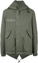 Mr & Mrs Italy - hooded military coat - men - Cotton - S