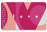 Nordstrom Love Gift Card $1000