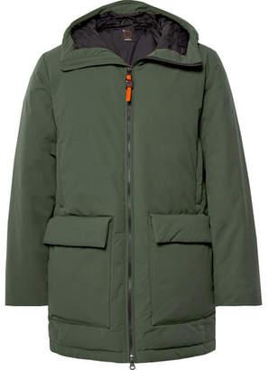 Aspesi Shell Hooded Down Jacket