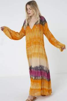 Charlie Joe Long Bohemian Jidan Dress - s