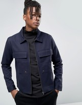 ONLY & SONS Utility Jacket with Large Pockets