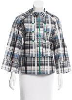 Suno Plaid Lightweight Jacket w/ Tags