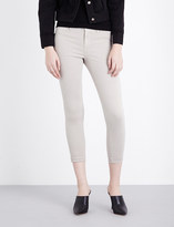 J Brand Anja skinny cropped mid-rise jeans
