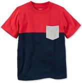 Carter's Colorblocked Cotton T-Shirt, Toddler Boys (2T-4T)