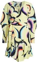 A.L.C. Enzo Silk-Chiffon Wrap Dress