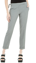 Max Studio Puppytooth Trousers, Grey