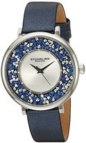 Stuhrling Original Women's 793.02 Vogue Analog Display Quartz Blue Watch