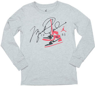 Nike Boys' Jordan Shoes Long-Sleeve T-Shirt