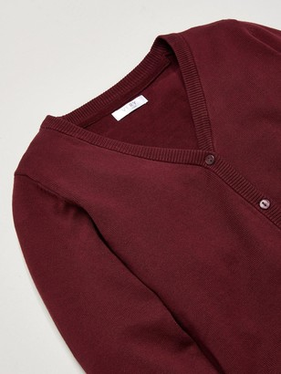 Very Girls 2 Pack School Cardigans - Burgundy