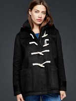 Gap Contrast wool toggle coat