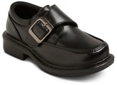 French Toast Toddler Boys' Mickey Jr Monkstrap Shoes - Black