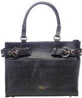 Elaine Turner Pamela Croc Leather Tote